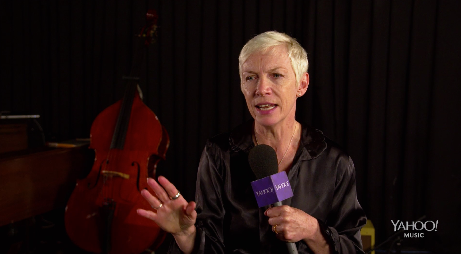 Annie Lennox: Exclusive Interview, Pt. 2 | Watch the video - Yahoo She