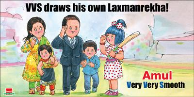 VVS Laxman announces his retirement from International Cricket- Aug'12