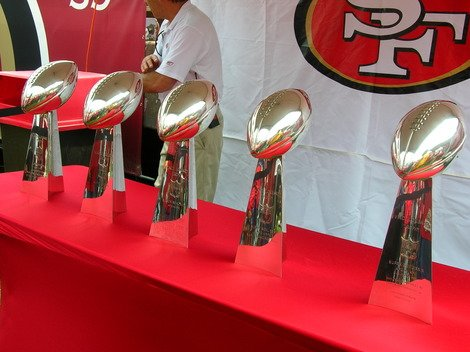The San Francisco 49ers have dominated past Super Bowls.