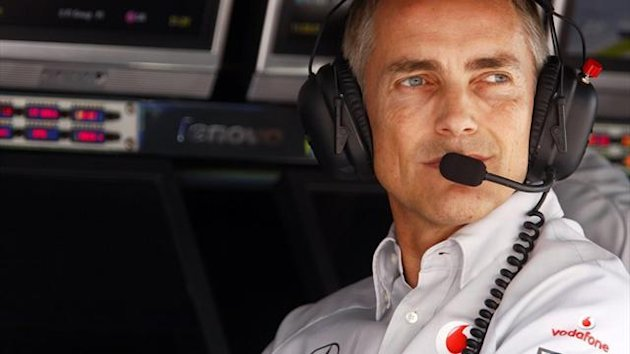 McLaren-Teamchef Martin Whitmarsh
