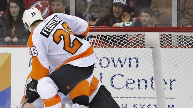 Ice Hockey - Fedotenko seals Flyers comeback