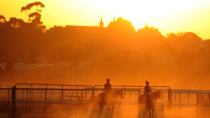Melbourne Trackwork Session
