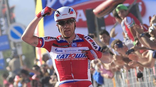 Giro d'Italia - Paolini picks up pink after stage three win