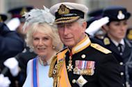 Britain's Prince Charles of Wales and his wife Camilla, Duchess of Cornwall in Amsterdam on April 30, 2013. Queen Elizabeth II will miss the Commonwealth heads of government meeting in Sri Lanka in November, sending her heir Prince Charles in her place, the palace announced on Tuesday