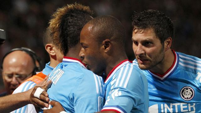 Marseille maintain perfect start at Nancy