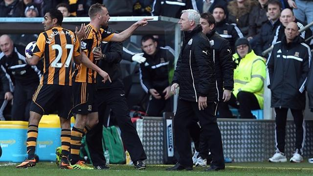 Premier League - Pardew handed seven match ban for headbutt