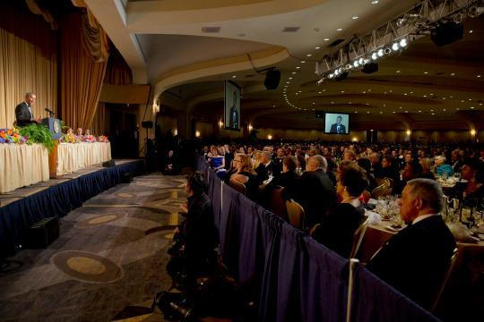 The White House Correspondents' Dinner, by the numbers