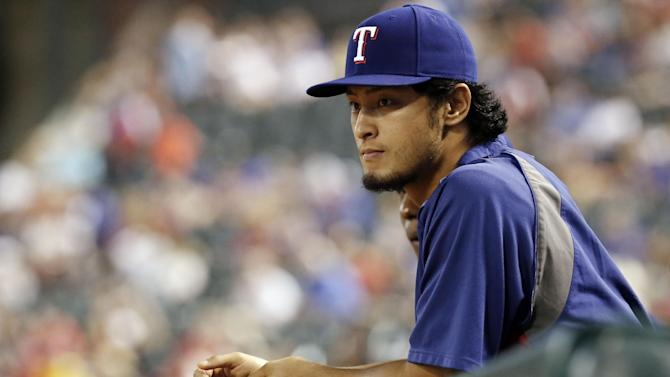 Rangers ace Darvish has mild elbow inflammation