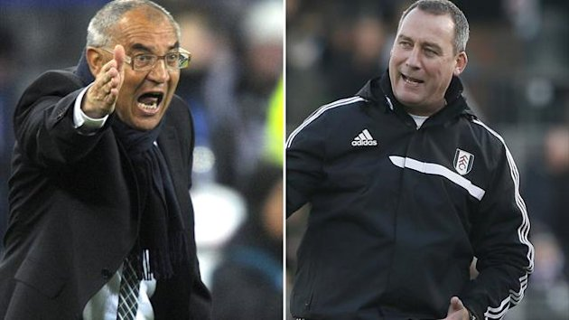 Felix Magath and Rene Meulensteen