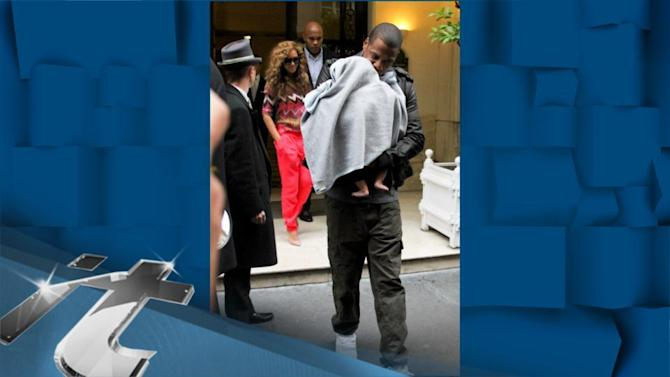 Jay-Z News Pop: Beyonce, Jay-Z and Blue Ivy Have the Most Stylish Lunch Ever in Toronto