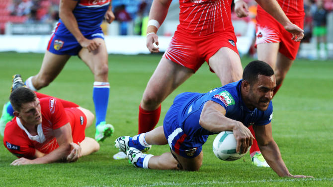Rugby League - Super League - Salford City Reds v Wakefield Wildcats - Salford City Stadium