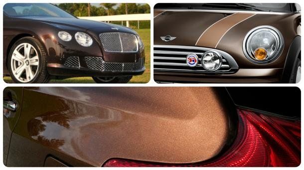 Click here for more photos of brown cars.