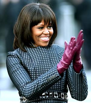 """Michelle Obama Calls Her Bangs Her """"Midlife Crisis"""""""