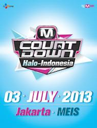 'M!Countdown' to be held in Indonesia on July 3rd