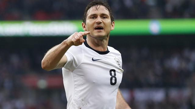 World Cup - Brazilian carrot drives Lampard towards 100th cap