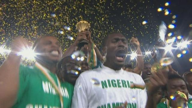African Cup of Nations - Celebrations after Nigeria's win