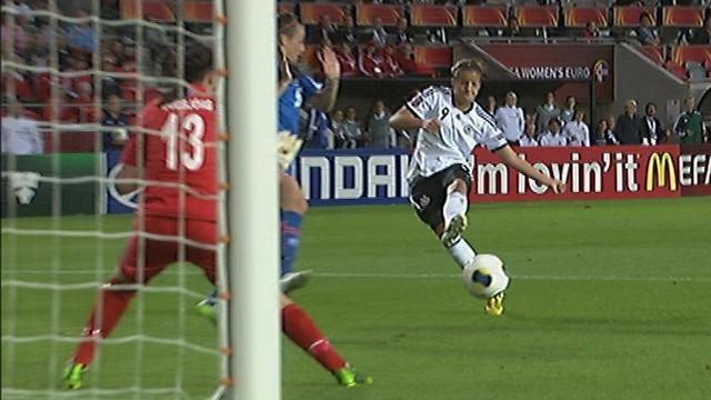 Women's Euro - Mbabi double sends Germany top of group