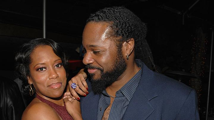 Regina King and Malcolm-Jamal Warner