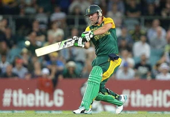 Top 5 individual scores in South Africa-Australia ODIs