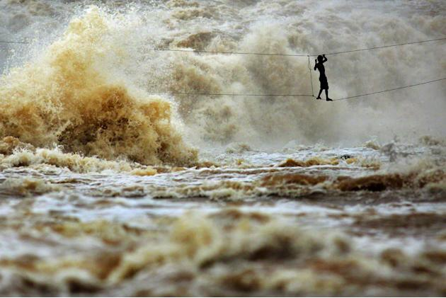 Mekong River in Laos, taken by Timothy Allen, UK (Travel Photographer of the Year)