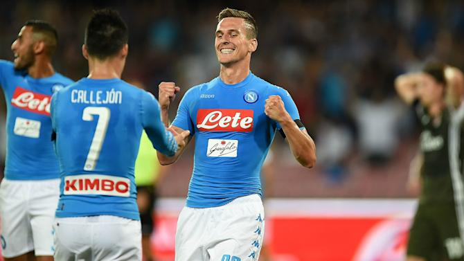 Milik revels in 'dream' brace as he ignores Higuain shadow