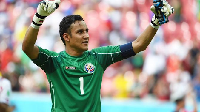 Liga - Real Madrid confirm Keylor Navas deal