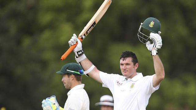 Cricket - South Africa's Smith set for record milestone