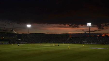 A general view is seen of the ground during the first T20 international between England and Australia at the Rose Bowl cricket ground, Southampton August 29, 2013. REUTERS/Philip Brown/Files