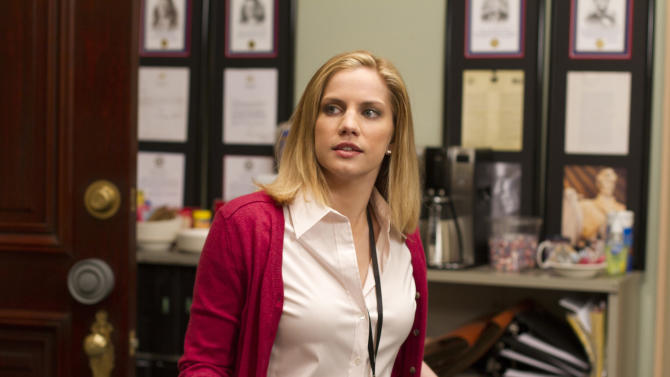 """Supporting Actress in a Comedy Series: Anna Chlumsky, """"Veep"""""""