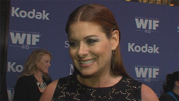 Debra Messing Reveals She 'Might Be' Headed To Broadway