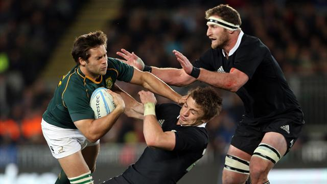 Rugby Championship - Springboks and All Blacks seek psychological blow