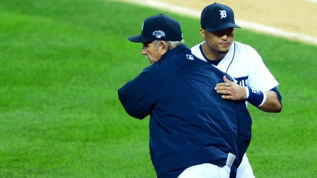 Baseball - Leyland steps down as Tigers' manager