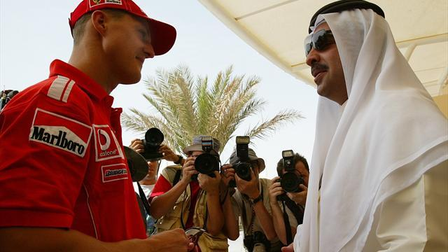 Bahrain Grand Prix - Bahrain names corner after Schumacher