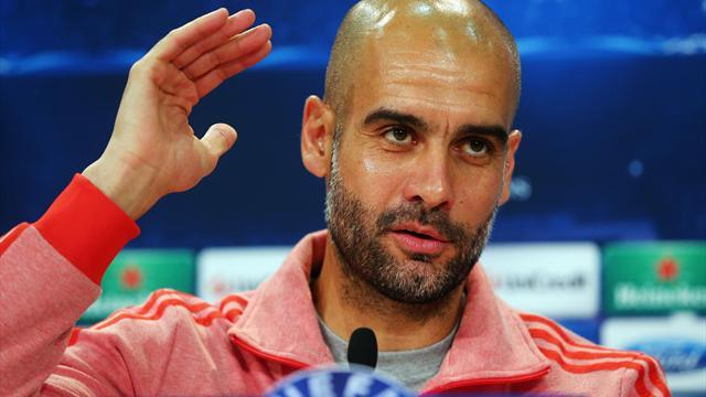 Bundesliga - Guardiola: Four titles not bad in 'toughest' first year