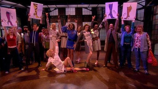 "The Cast of ""Kinky Boots"" Performs"