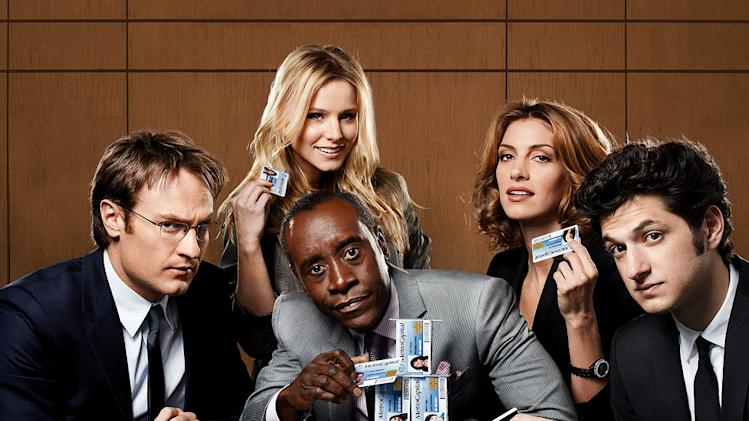 "The cast of ""House of Lies."""