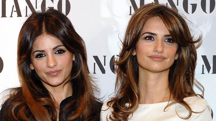 Penelope Cruz and Monica Cruz
