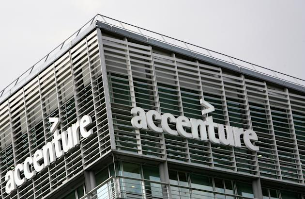 France illustration logo outsourcer accenture how 25 for Accenture london office