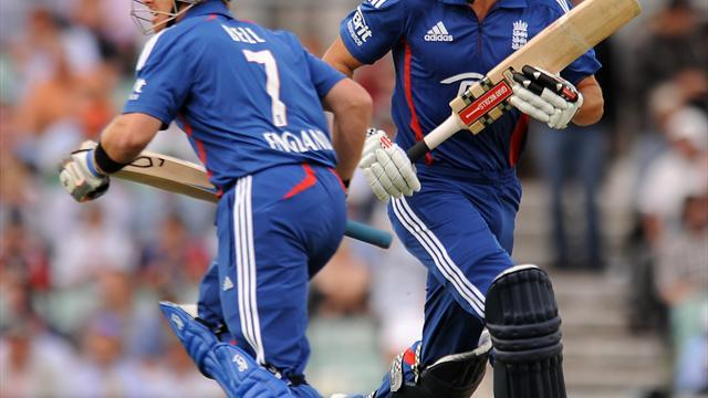 Cricket - Bell and Cook prosper early on