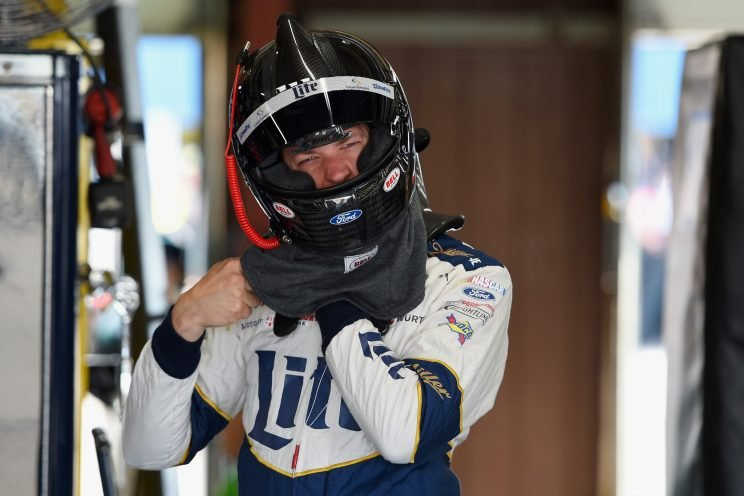 Brad Keselowski drove an IndyCar on Wednesday (Getty Images)