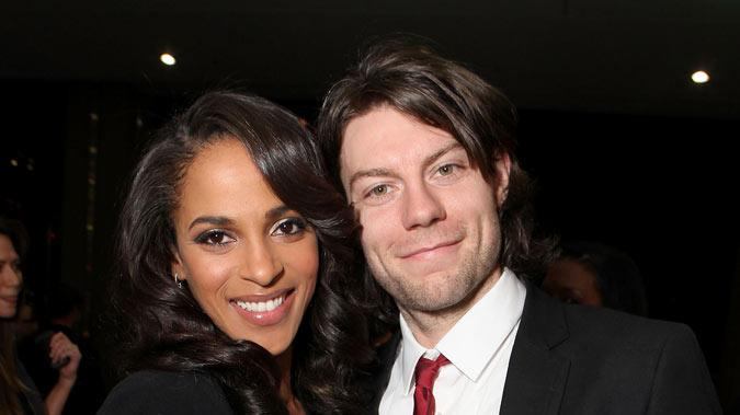 "Megalyn Echikunwoke and Patrick Fugit at the premiere party for Showtime's new series ""House of Lies&quot held at the AT&T Center Theatre on January 4, 2012 in Los Angeles, California."