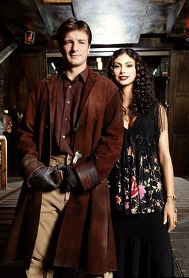 """Nathan Fillion and Morena Baccarin Fox's """"Firefly"""" Firefly"""