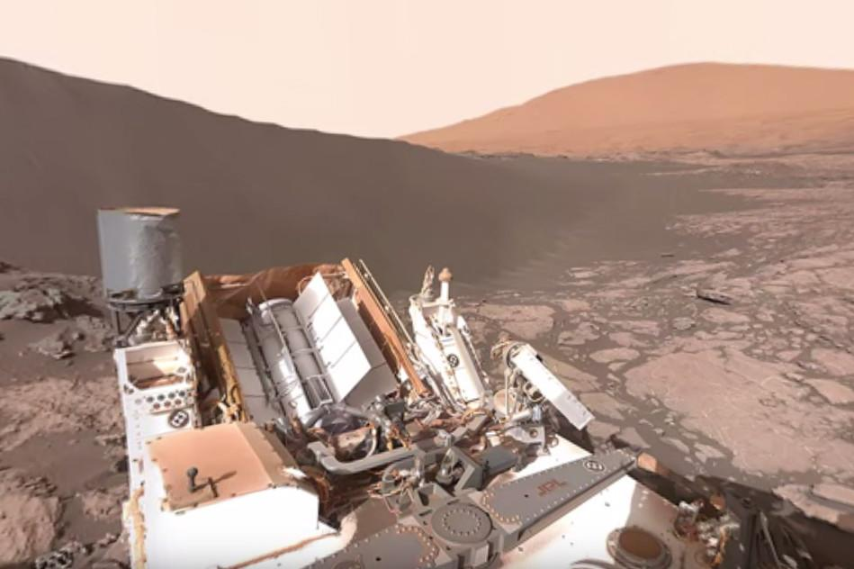 Explore the Martian surface with NASA's Street View-style 360-degree imagery