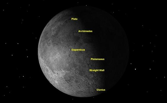 As the moon approaches last quarter on Sunday February 3, it is best viewed around sunrise.