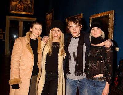 Amber Benson, Lori Heuring, Nick Stahl and January Jones Taboo party Sundance Film Festival 1/15/2002