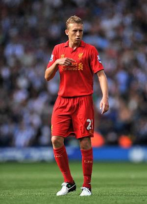 Lucas Leiva is set for a first-team return for Liverpool
