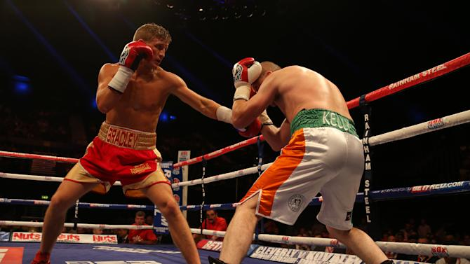 Boxing - Welterweight Bout - Bradley Saunders v Michael Kelly - Wembley Arena