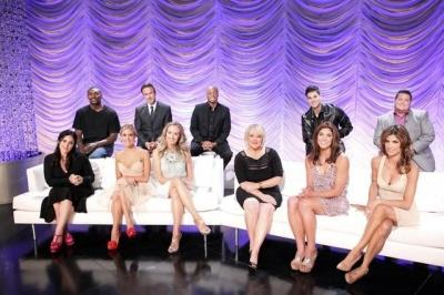 """The cast of Season 13 of """"Dancing with the Stars"""" (minus Carson Kressley, who was in New York), Aug. 29, 2011 -- ABC"""