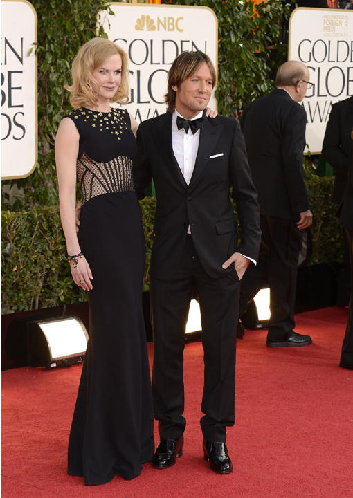 "NBC's ""70th Annual Golden Globe Awards"" - Arrivals: Nicole Kidman and Keith Urban"