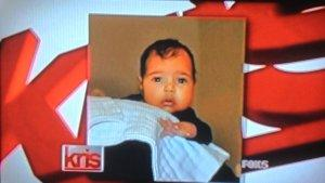 North West's First Photo Broadcast on Kris Jenner's Talk Show